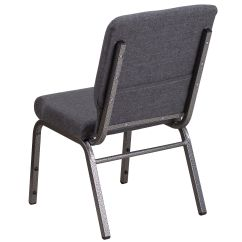 Free Church Chairs Vintage Industrial Office Chair Dark Gray Fabric Fd Ch02185 Sv Dkgy Gg