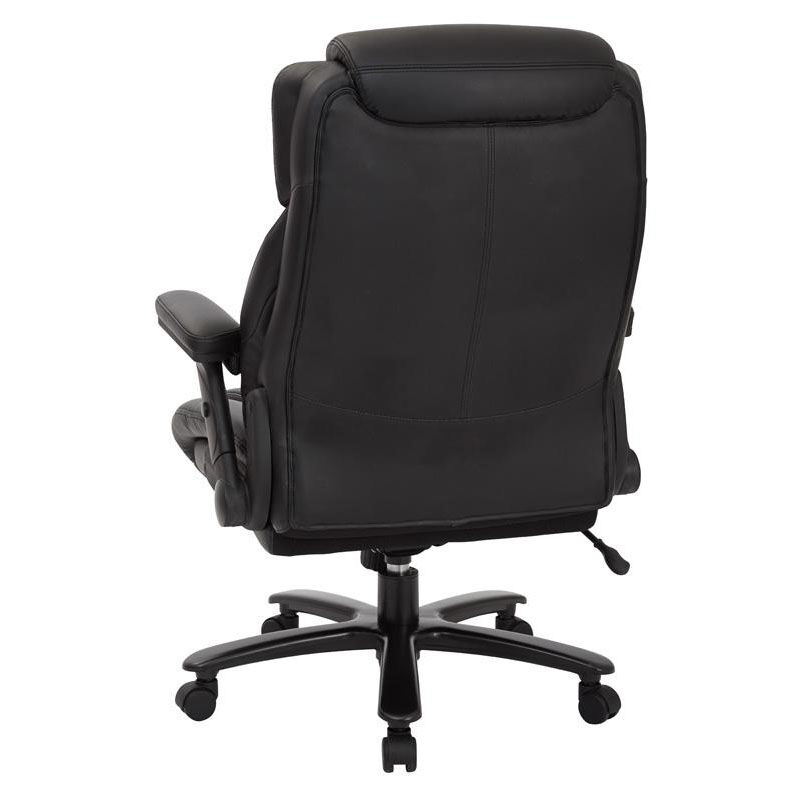 office chair 300 lb capacity padded deck chairs star products pro line ii big and tall deluxe high