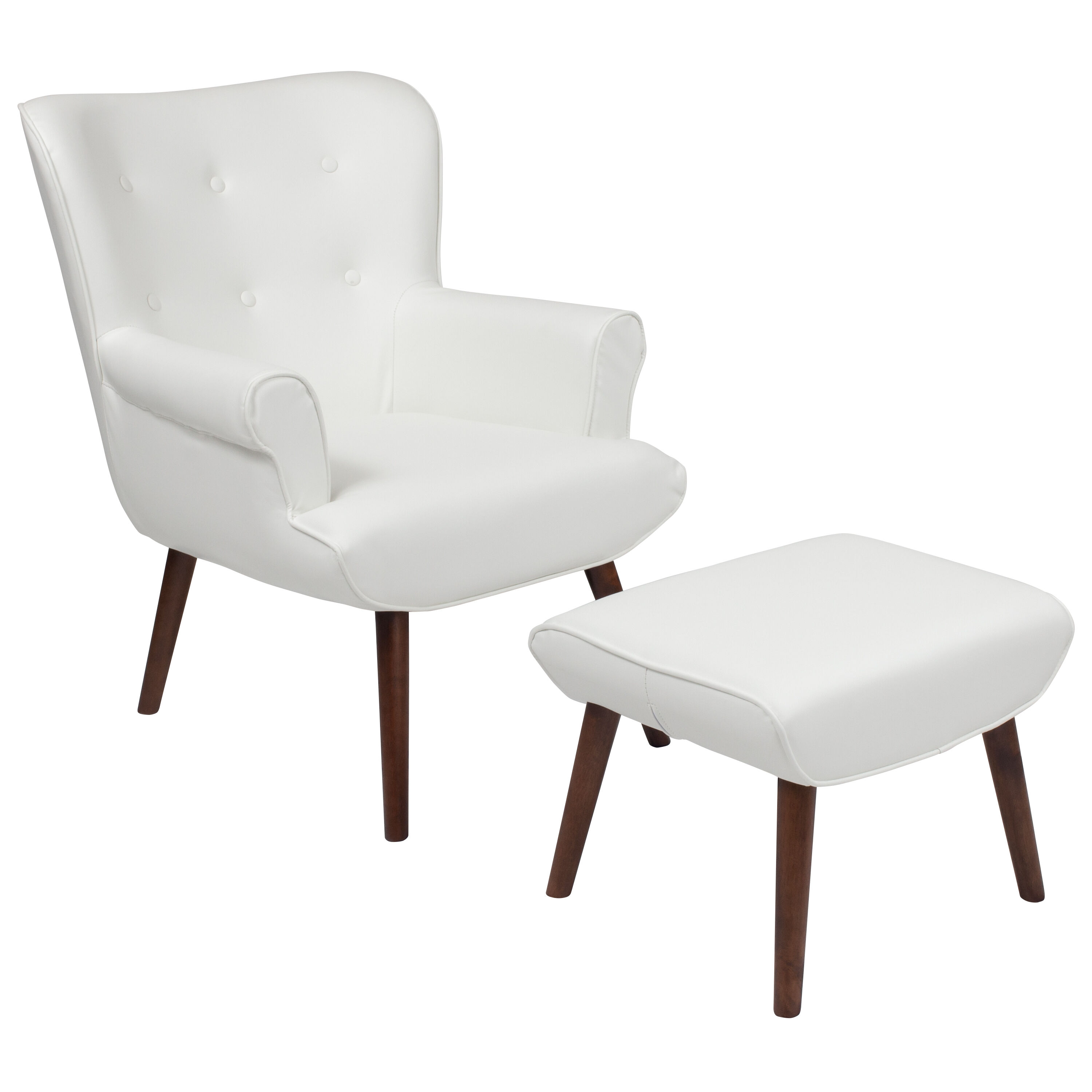 white leather wingback chair rocking chairs target wing ott qy b39 co whl gg churchchairs4less com our bayton upholstered with ottoman in is on sale now