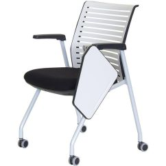 White Multi Purpose Salon Chair Graco 4 In One High Ace Nesting With Left Handed Writing