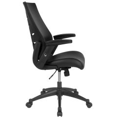 Office Chair With Adjustable Arms Target Potty Recall Black High Back Leather Bl Lb 8809 Lea Gg Churchchairs4less Com Our Executive Swivel Molded Foam Seat And