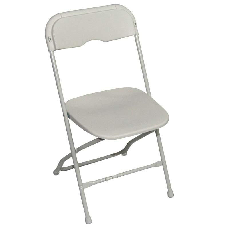 folding chair feet grey and white dining chairs midas event supply champ series versatile resin wedding