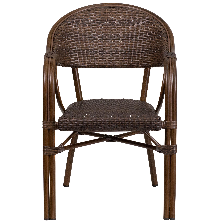bamboo outdoor chairs blue chair jam rattan aluminum sda ad642003r 1 gg
