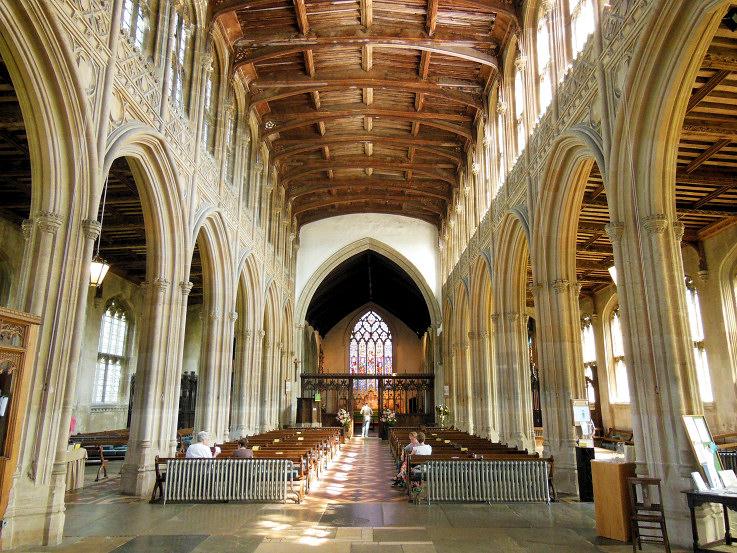 The Churches of Britain and Ireland  Lavenham