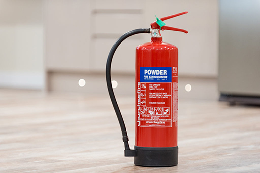hight resolution of fire extinguishers
