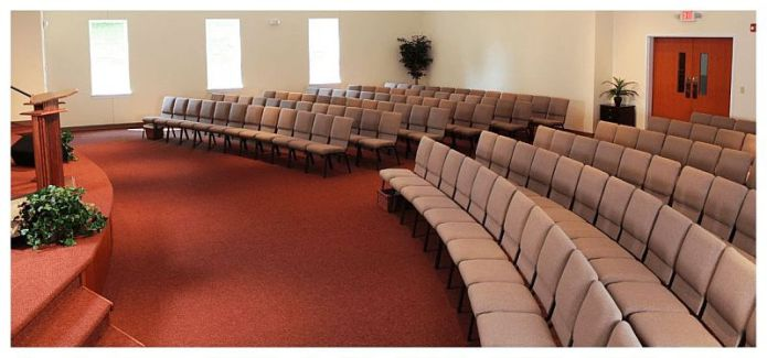 BRCF Church Chairs Installed