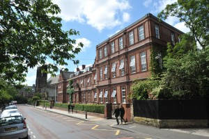 The Newcastle upon Tyne Church High Senior School buildings.