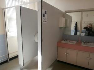 The Staff Room Ladies Toilets.