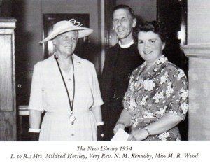 The Library Opening 1954