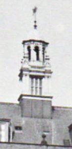Detail of the bell tower in 1951.