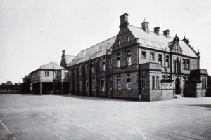 The 1928 extension housed the first purpose-built laboratory.
