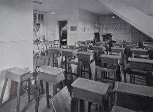 The Studio, the original Art room at Newcastle High School.