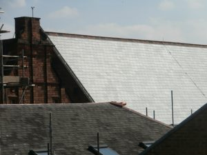 The work is now complete on the Main Hall roof.