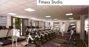 An artist's impression of the new build Fitness Suite.
