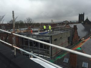 Second Floor of new extension from New Build (G.cam).
