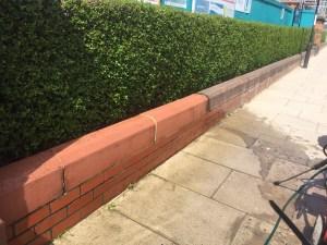 clean wall
