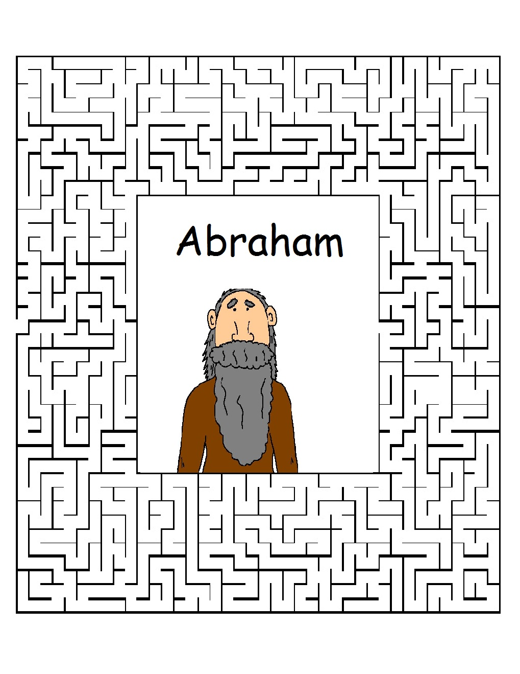 Abraham Sunday School Lessons-Preschool Kids-Bible Lesson