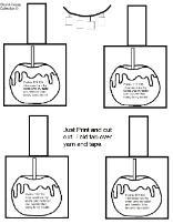 Candy Apple Sunday School Lesson