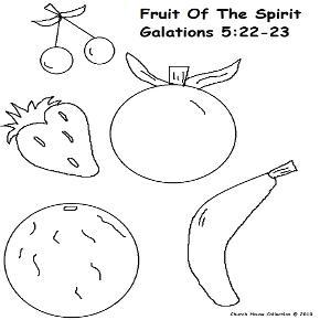 Fruit of The Spirit Sunday School Lesson