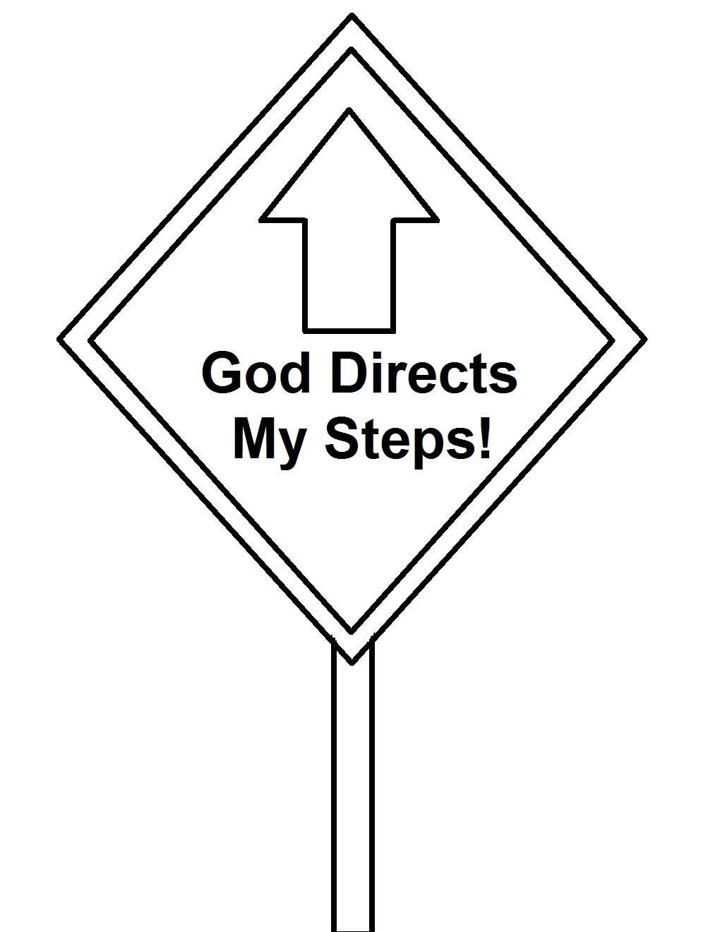 Church House Collection Blog: God's Road Signs Sunday