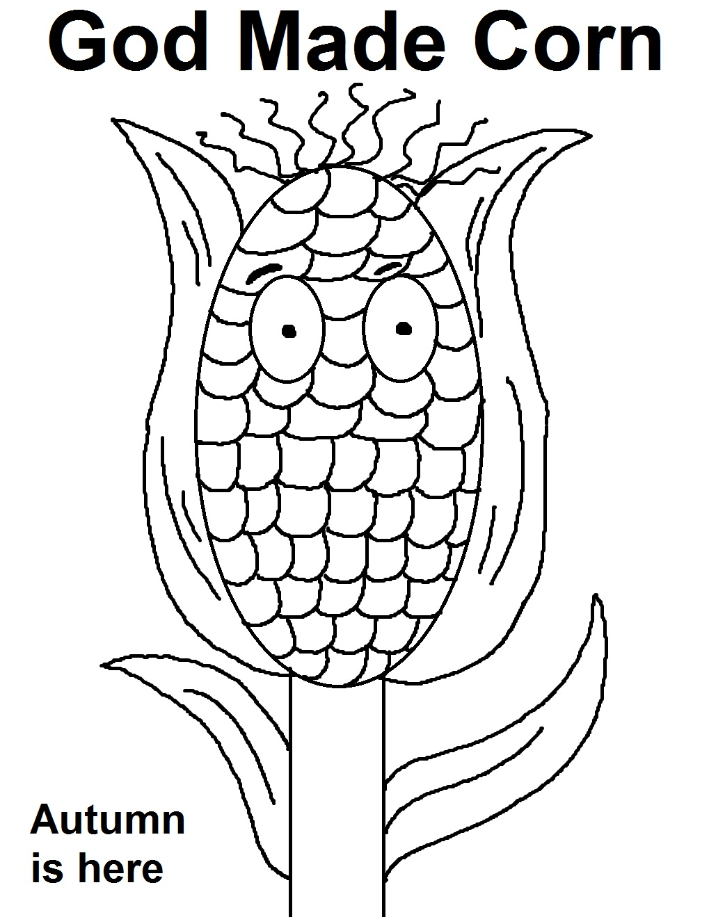 Corn Sunday School Lesson