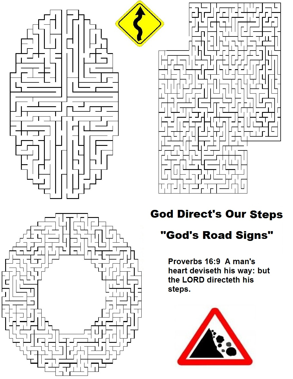God's Road Signs Lesson