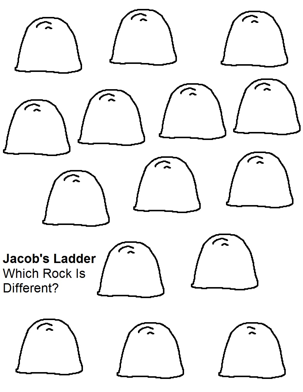 Jacob's Ladder Sunday School Lesson