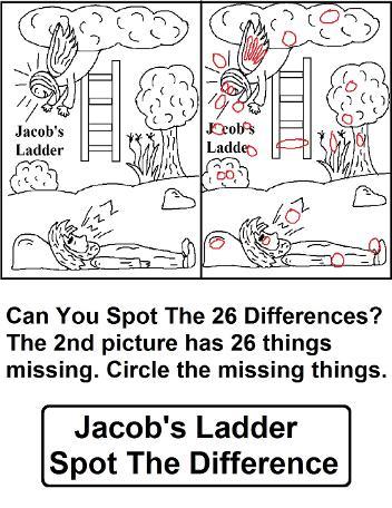 Jacob's Ladder Sunday School Lesson