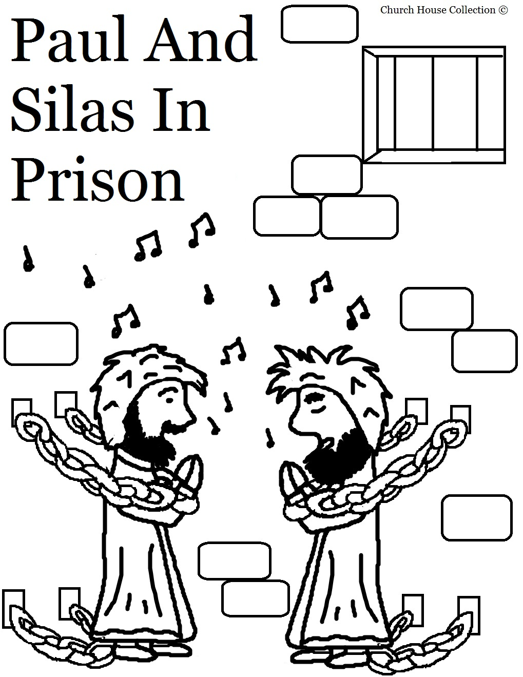 Free coloring pages of peter prison
