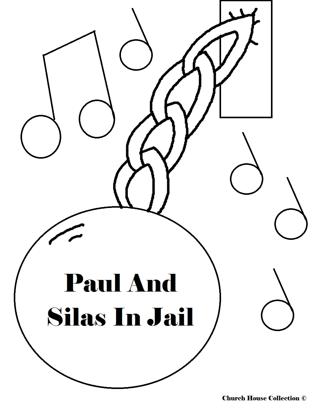 Free coloring pages of paul barnabas