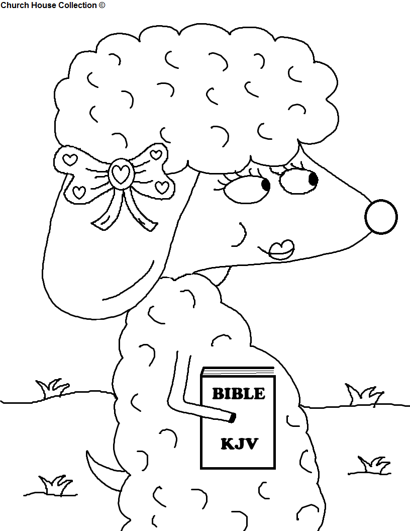 bible black Colouring Pages