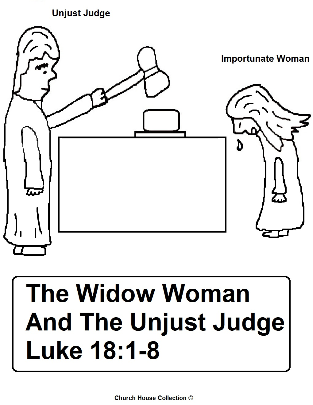 Parable Of The Importunate Woman and Unjust Judge