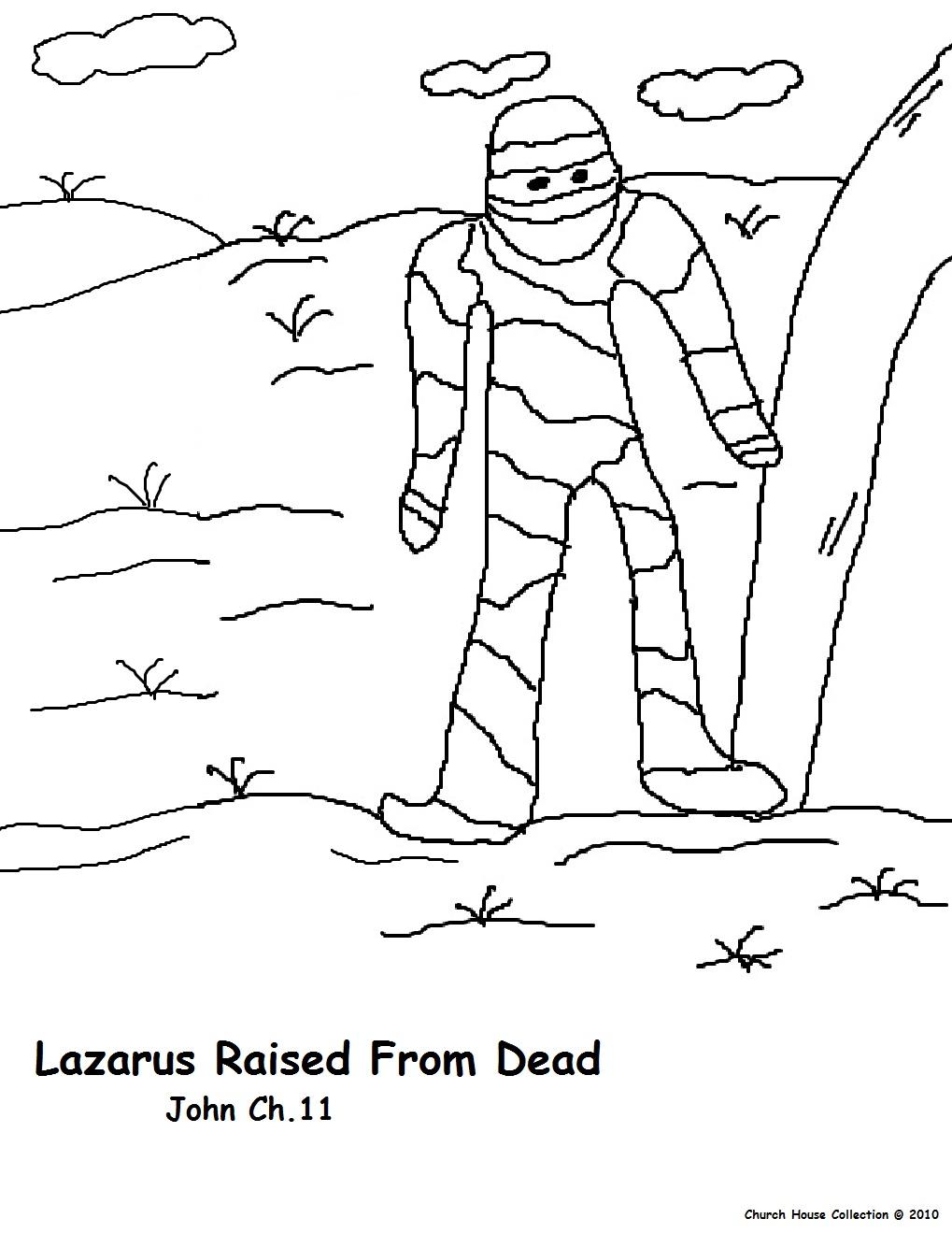 Lazarus Sunday school lesson