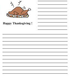 Thanksgiving Writing Prompts: Yes [ 1319 x 1019 Pixel ]