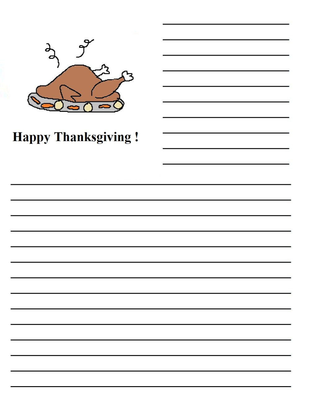 medium resolution of Thanksgiving Writing Prompts: Yes