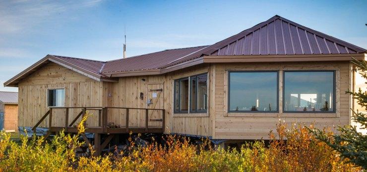 Nanuk Polar Bear Lodge. Deep in the heart of polar bear country.