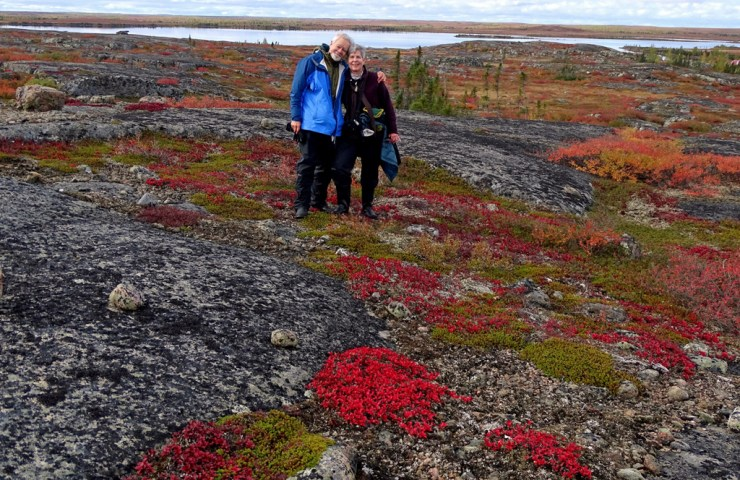 Frosty and Sam Frostman at Schmok Lake. Click image for story.