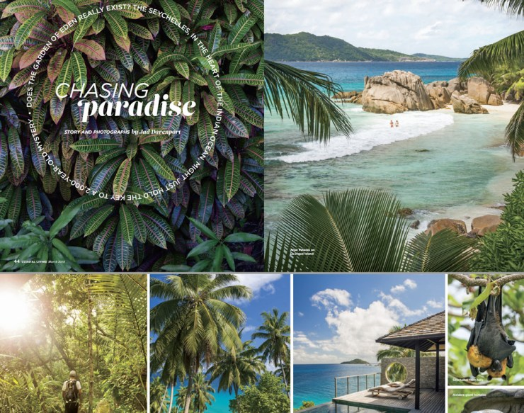 Chasing Paradise. Does the Garden of Eden really exist? Click image for story courtesy of Jad Davenport and Coastal Living Magazine.