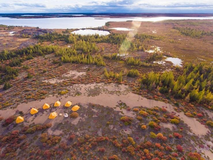 Tundra Camp.