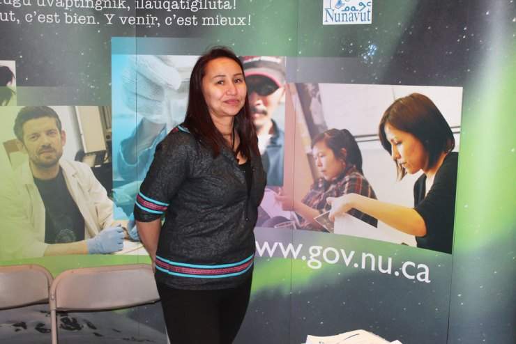 Mary-Lee Sandy-Aliyak, Recruiting Consultant, Government of Nunavut.