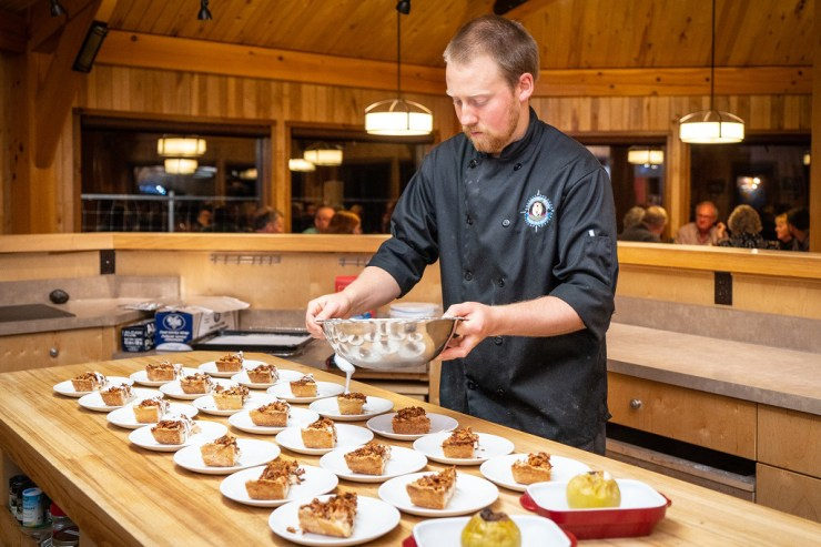 Riley the Chef at Seal River Heritage Lodge. Scott Zielke photo.