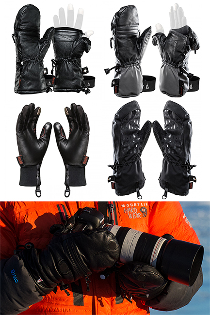 Heat Layer System Photography Gloves. Options that work.