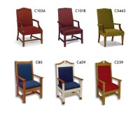Church Chancel Furnishings: Clergy Chairs, Pulpits, Kneelers