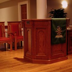 Wooden Church Choir Chairs Oversized Reading Chair Chancel Furnishings Clergy Pulpits Kneelers
