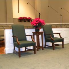 Pastor Pulpit Chairs Ergonomic Chair Kneeling Review Church Interiors Clergy 3 Inc