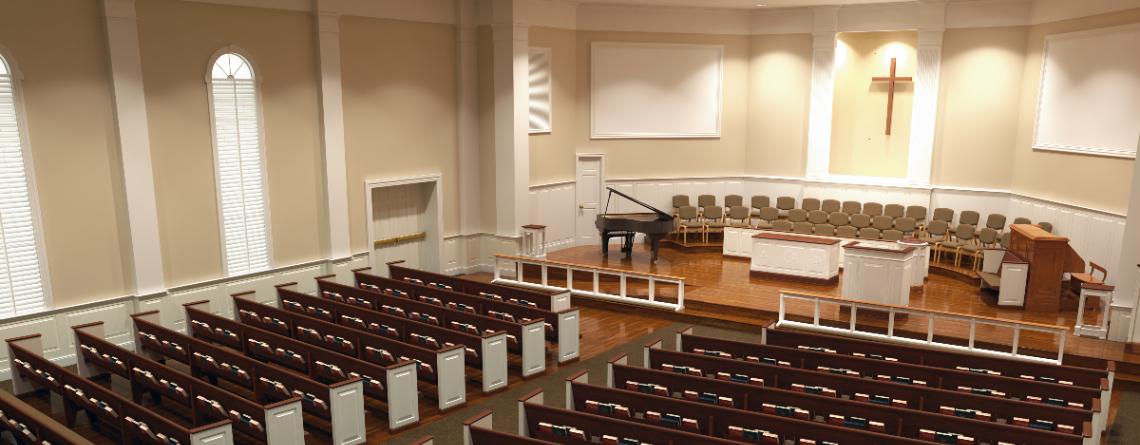 Church Decorating Interior 3D Renderings Liturgical Design