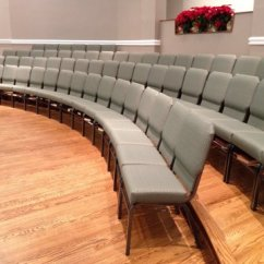 Chair Covers For Classroom Vintage Wooden Dining Chairs Church Chairs, Sanctuary & - Interiors, Inc.