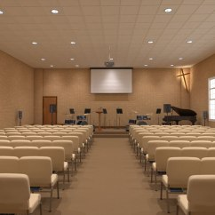 Chair Covers For Classroom Blue Striped Church Chairs, Sanctuary & Chairs - Interiors, Inc.