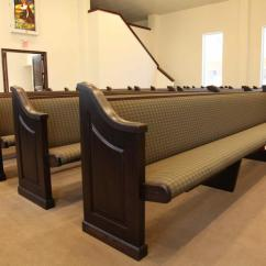 Wooden Church Choir Chairs Belmont Barber For Sale Pews, Solid Oak & Maple Pew Body Styles