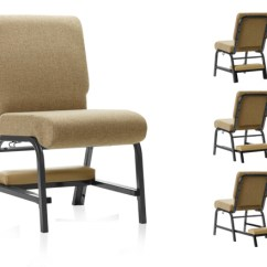 Church Chair With Kneeler Track Accessories Chairs, Sanctuary & Classroom Chairs - Interiors, Inc.